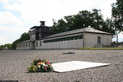 Monument to all prisoners of Buchenwald concentration camp