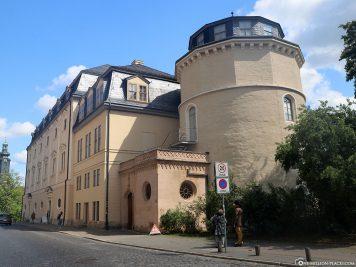 Entrance to the Duchess Anna Amalia Library