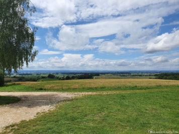 Panoramablick ins Ries