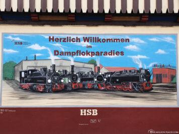 Steam locomotive paradise in Wernigerode
