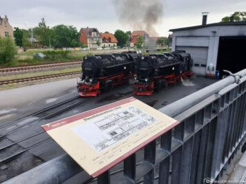 Der Bahnhof in Wernigerode