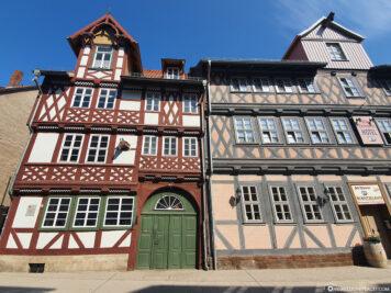 Fachwerkhäuser in der Altstadt