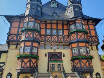 Das malerische Rathaus