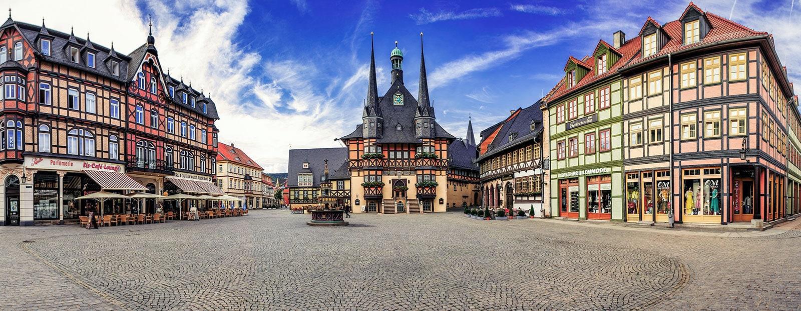 Wernigerode, Marktplatz, Rathaus, Brunnen, Gothisches Haus, Sehenswürdigkeiten, Fotospot, Reisebericht