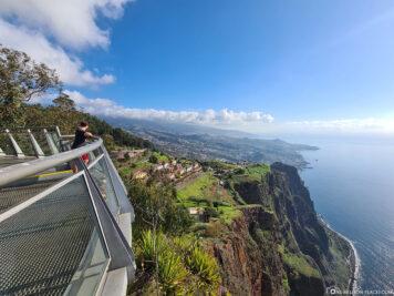 Die Aussicht auf die Südküste von Madeira