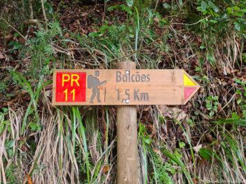 Wanderweg Miradouro dos Balcoes
