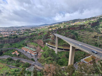 Blick auf die Autobahn VR1