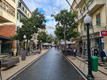 Einkaufsstraße von Funchal