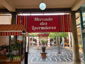 Die Markthalle Funchal