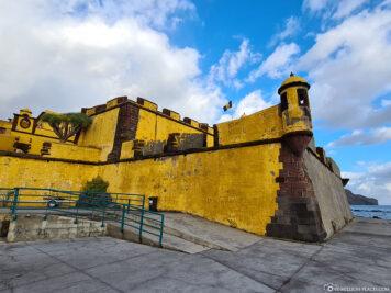 Die Festung von Sao Tiago