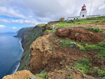 Die Klippen an der Westküste von Madeira