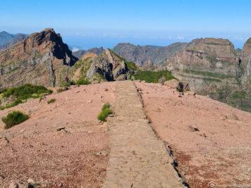 Der Wanderweg zur Stairway to Heaven