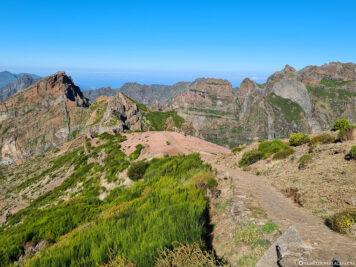 Wanderweg zum Pico Ruivo