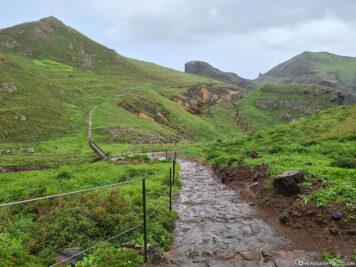 Der Wanderweg zur Ostspitze von Madeira
