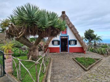 Typisches traditionelles altes Haus auf Madeira