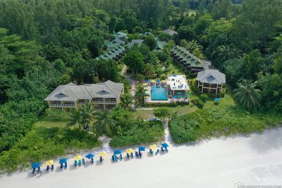 Der Strand des Acajou Beach Resort
