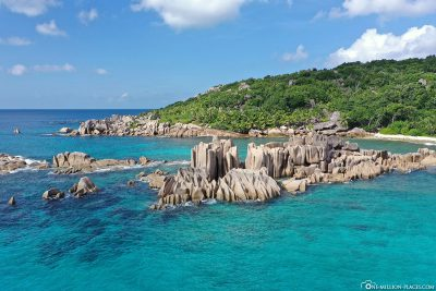 Drone footage from the Grand l'Anse