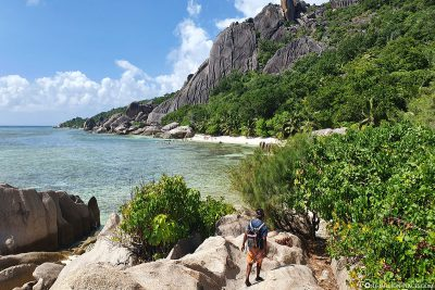 View of the Anse Pierrot