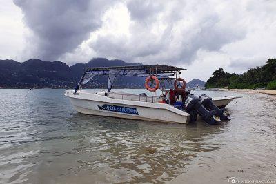 Arrival on Cerf Island
