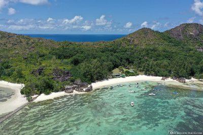 Die Insel Curieuse Island