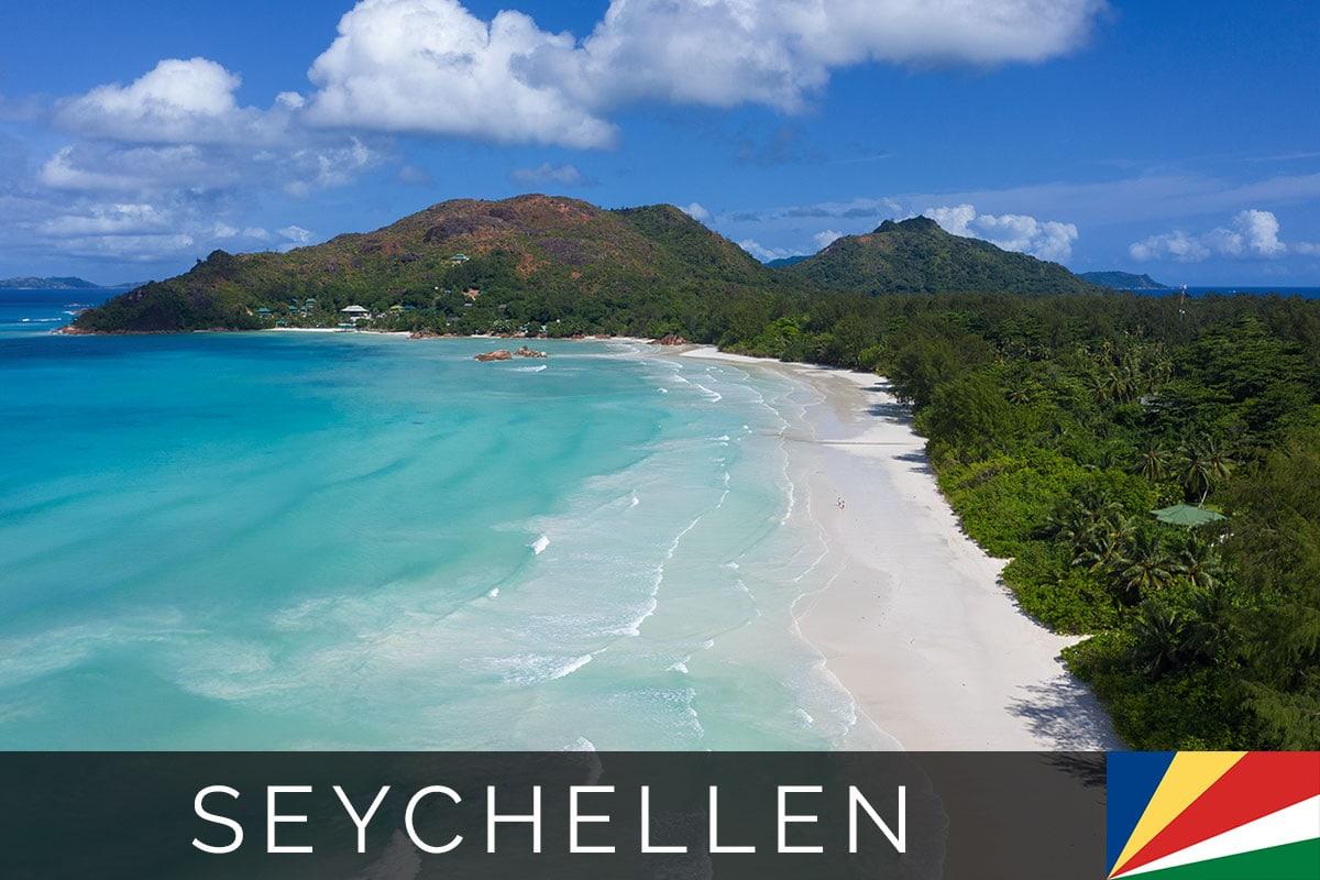 Insel Praslin Seychellen Titelbild