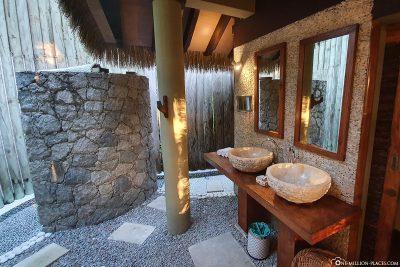 Das offene Badezimmer
