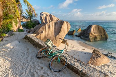 Bicycles on La Digue