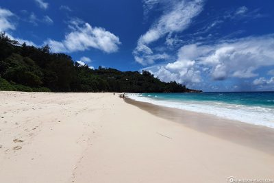 The Anse Intendance on the island of Mahé