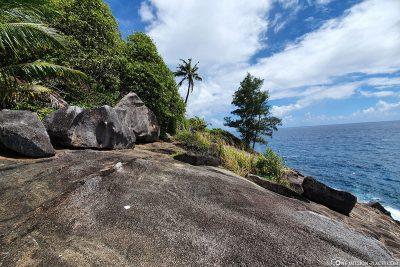 Das Felsplateau vor dem Rock Pool