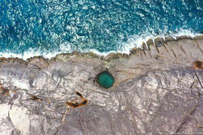 Der Rock Pool auf Mahé