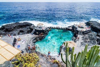 Rock Pool von Charco Azul