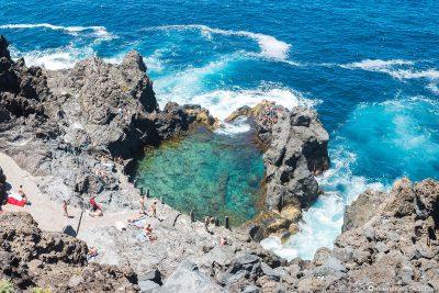 Rock Pool in Tenerife
