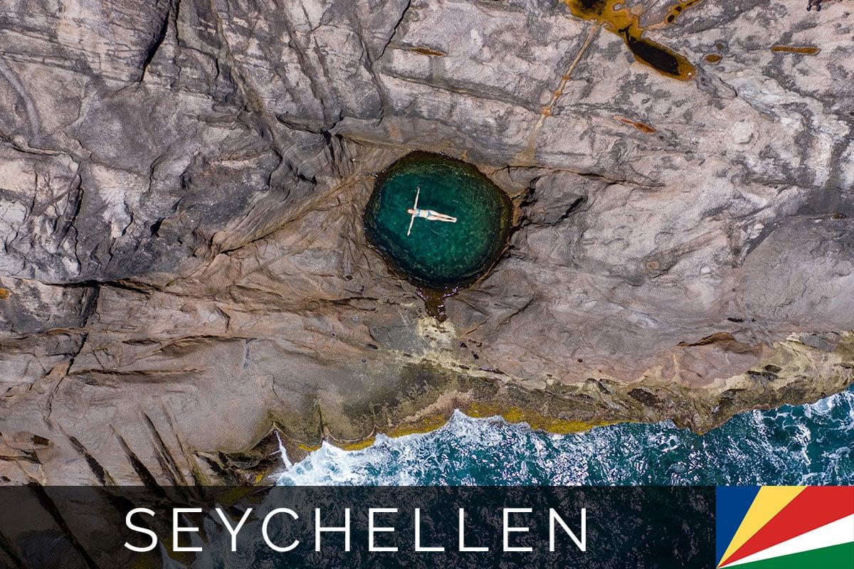 Rock Pool Mahe Seychellen Titelbild