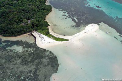 Die Sandbank von Long Island