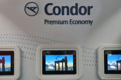 Die Premium Economy Class bei Condor