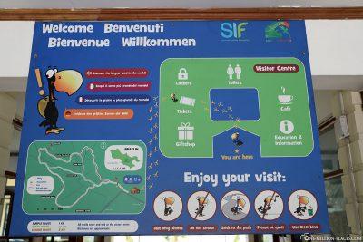 An information board