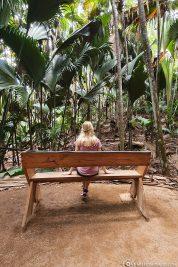 A park bench