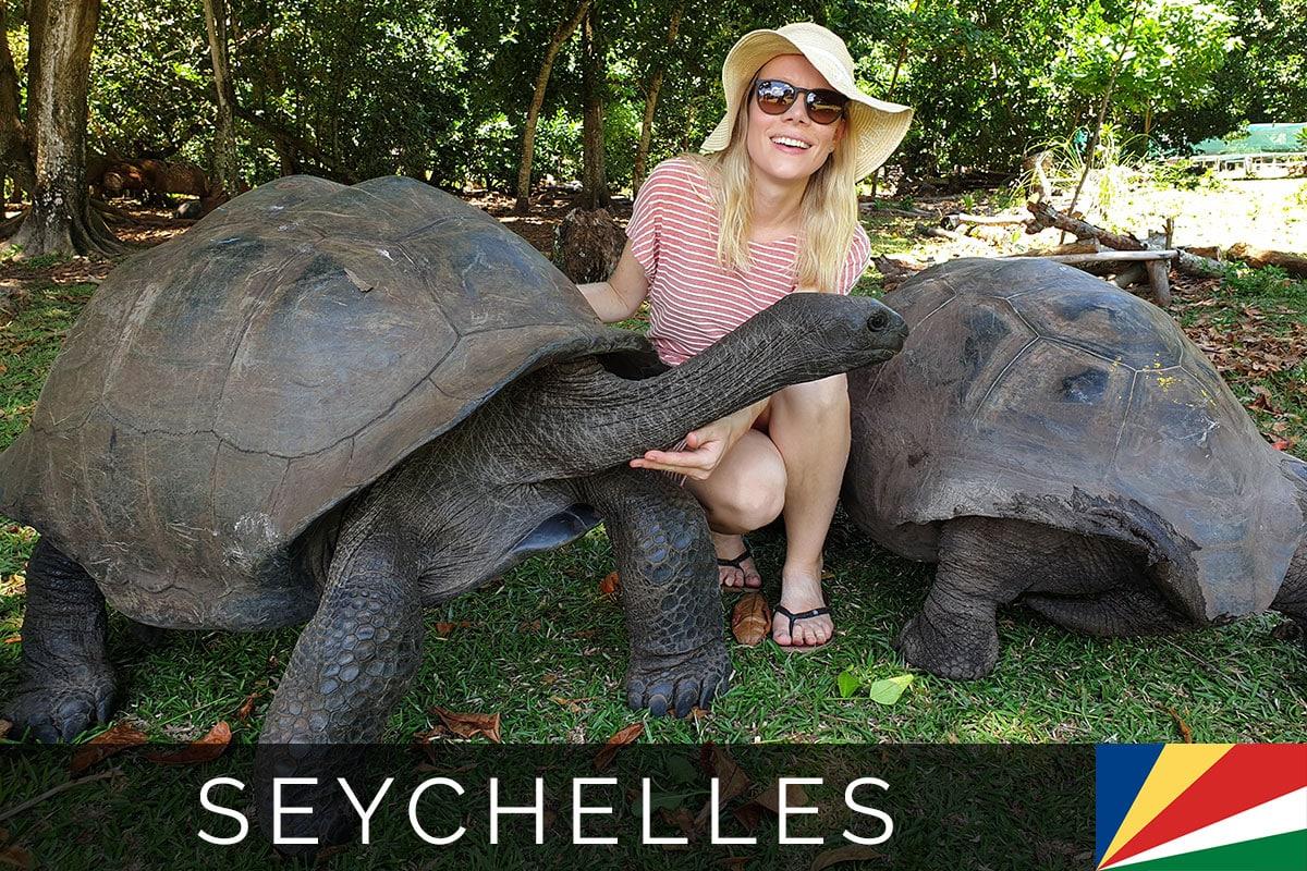 Seychelles Curieuse Island Tortoises Blog Post