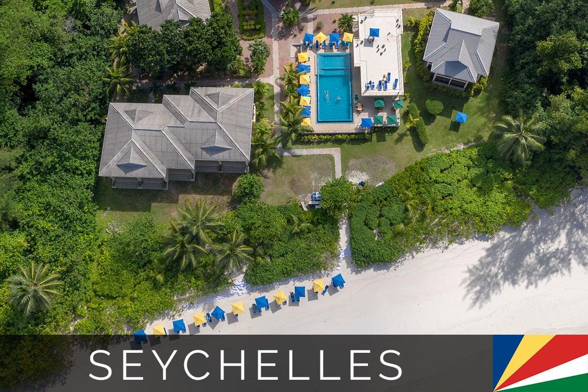 Seychelles Praslin Acajou Beach Resort Blog Post
