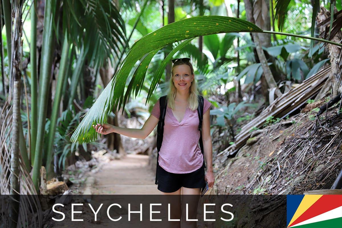 Seychelles Praslin Valley de Mai Blog Post