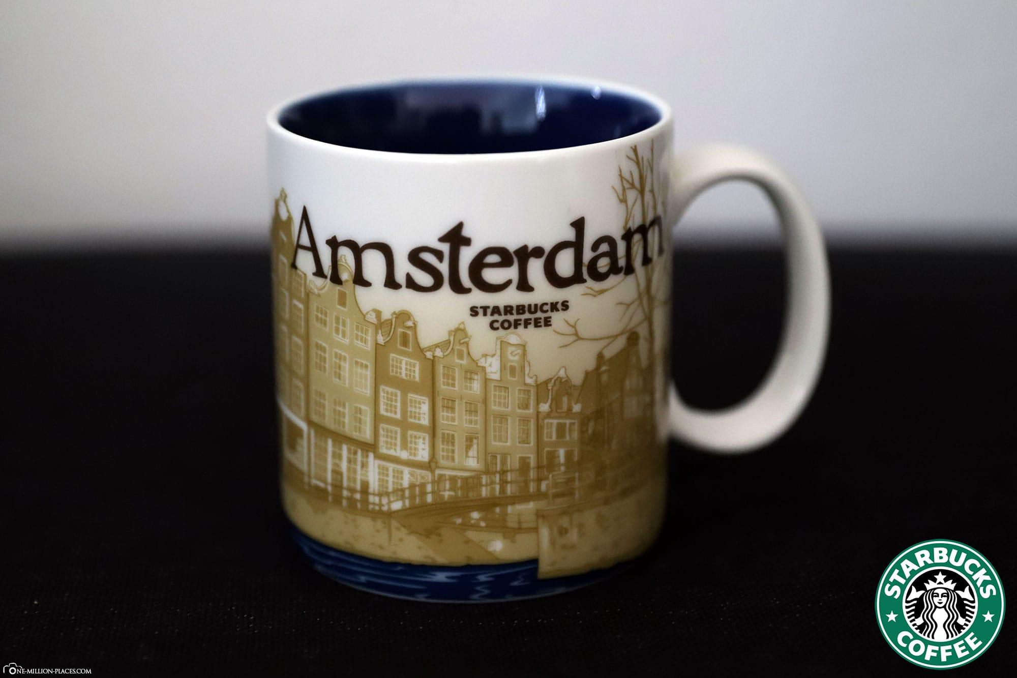 Amsterdam, Starbucks Tasse, Global Icon Serie, City Mugs, Sammlung, Niederlande, Reisebericht