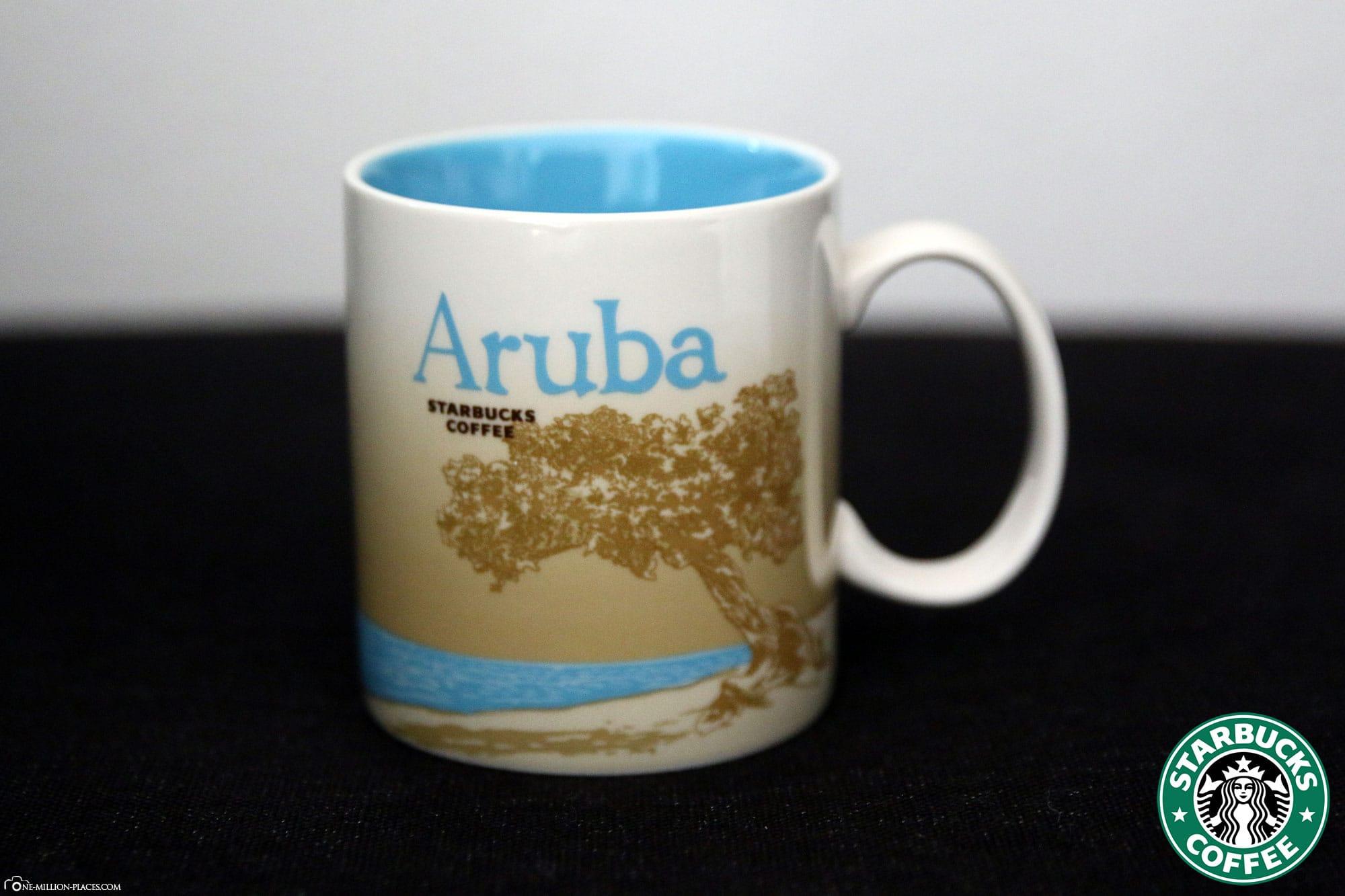 Aruba, Starbucks Cup, Global Icon Series, City Mugs, Collection, ABC Islands, Travelreport