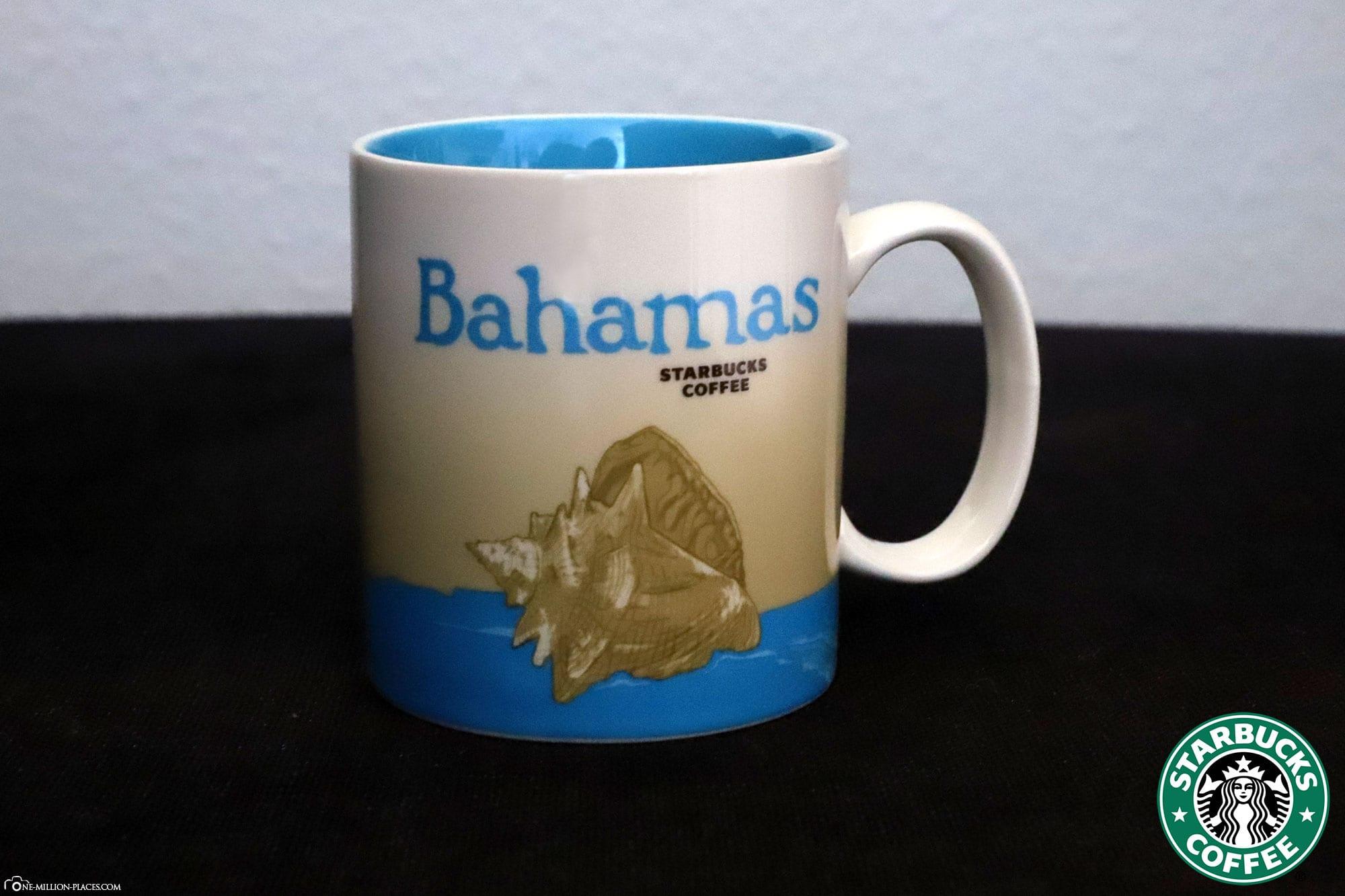 Bahamas, Starbucks Tasse, Global Icon Serie, City Mugs, Sammlung, Reisebericht