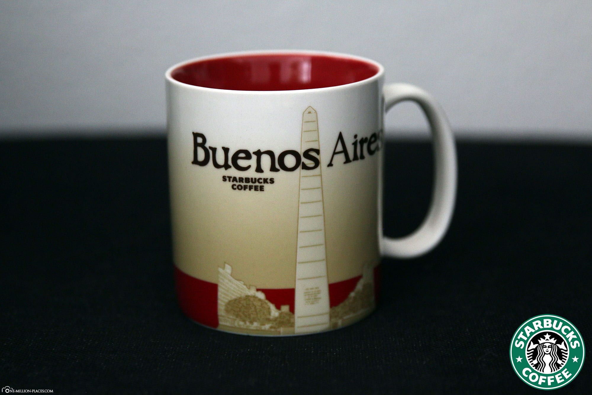 Buenos Aires, Starbucks Tasse, Global Icon Serie, City Mugs, Sammlung, Argentinien, Reisebericht