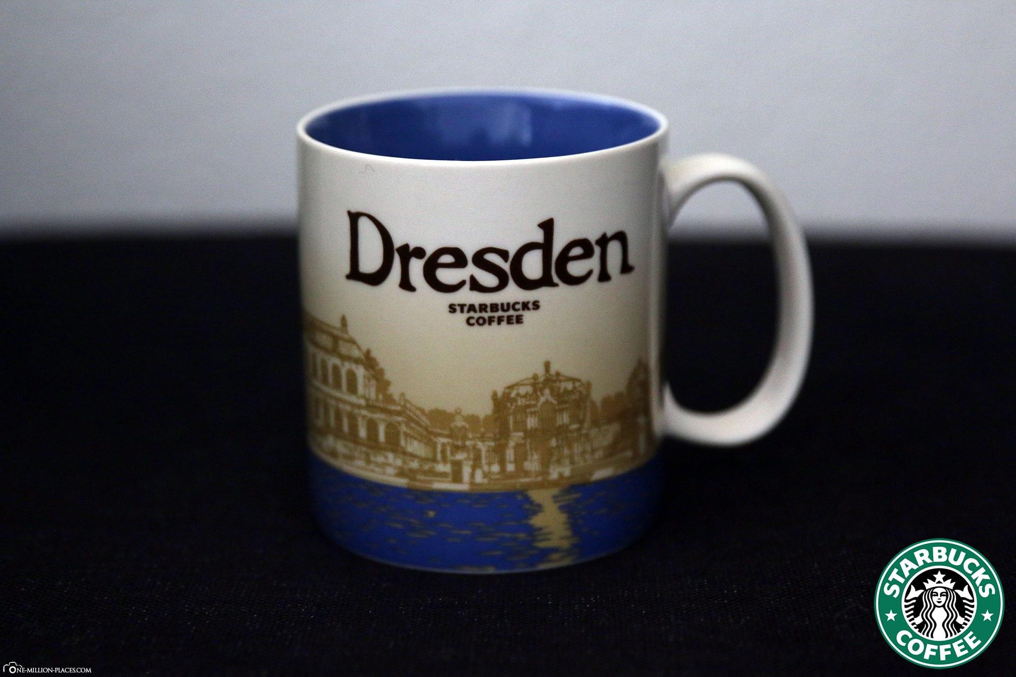 Dresden, Starbucks Tasse, Global Icon Serie, City Mugs, Sammlung, Deutschland, Reisebericht