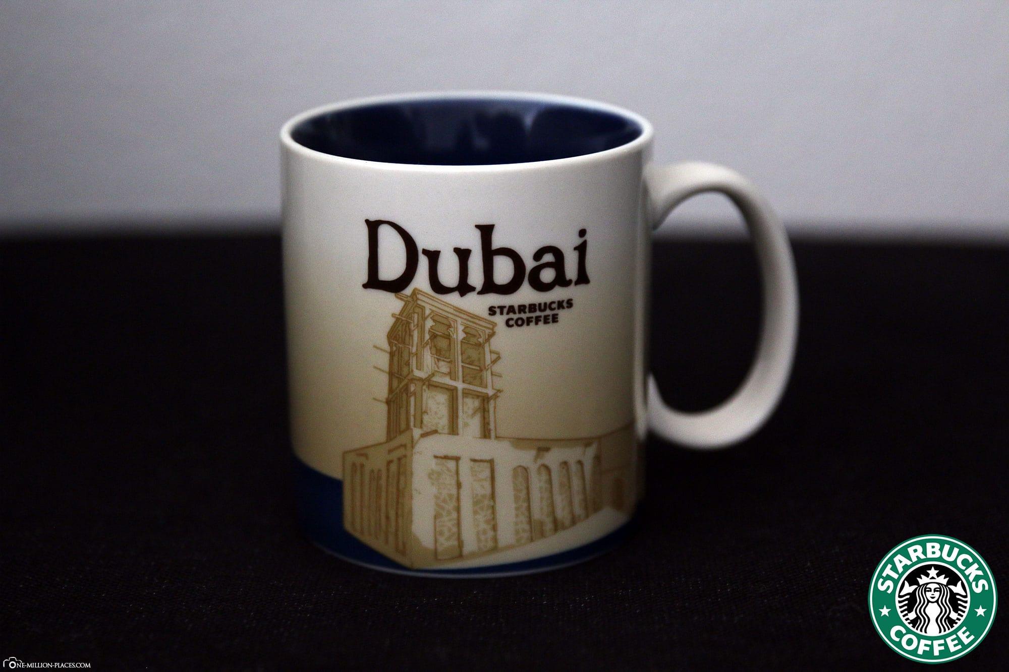 Dubai, Starbucks Tasse, Global Icon Serie, City Mugs, Sammlung, Vereinigten Arabischen Emirate, Reisebericht
