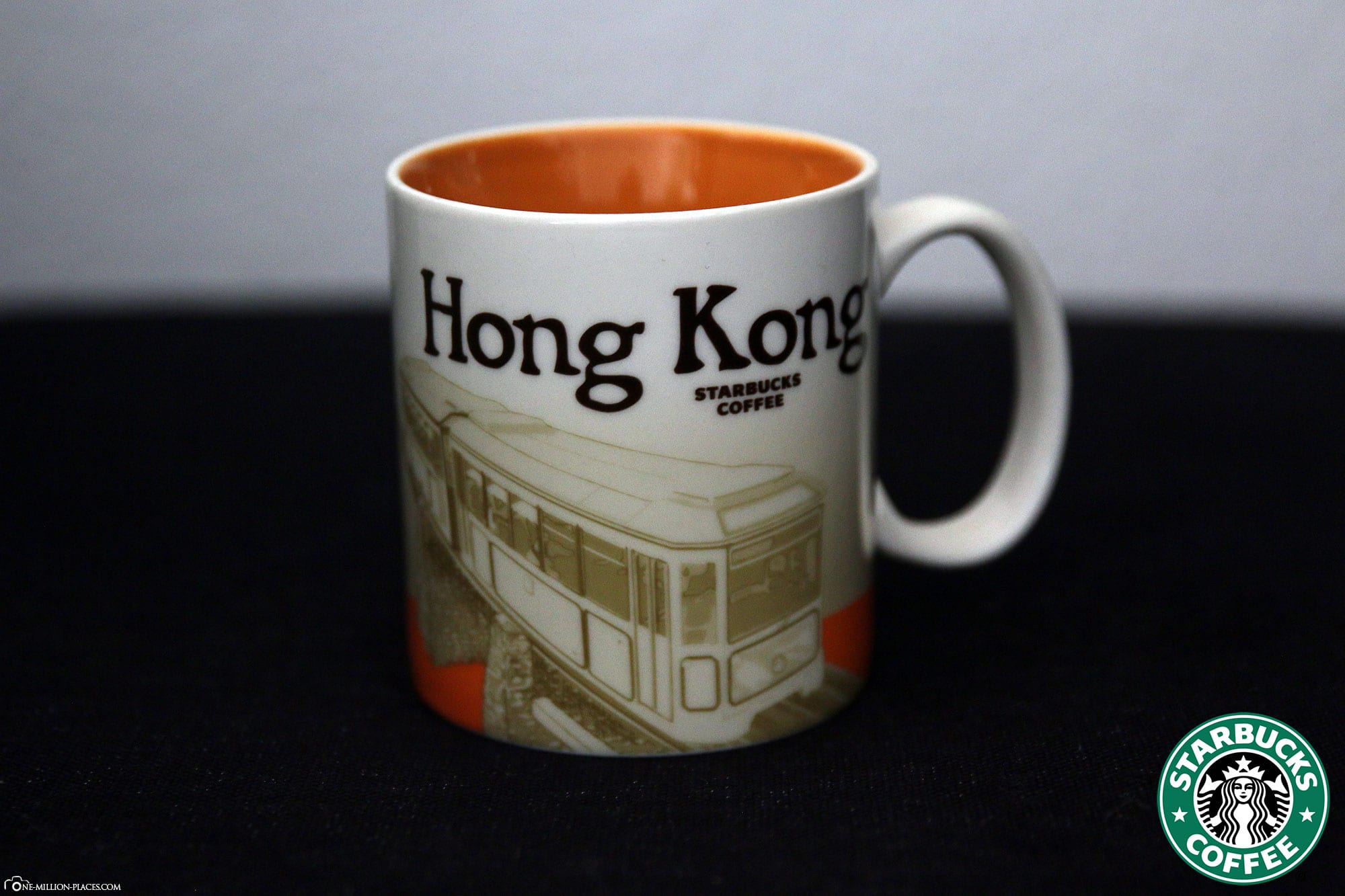 Hong Kong, Starbucks Cup, Global Icon Series, City Mugs, Collection, China, Travelreport