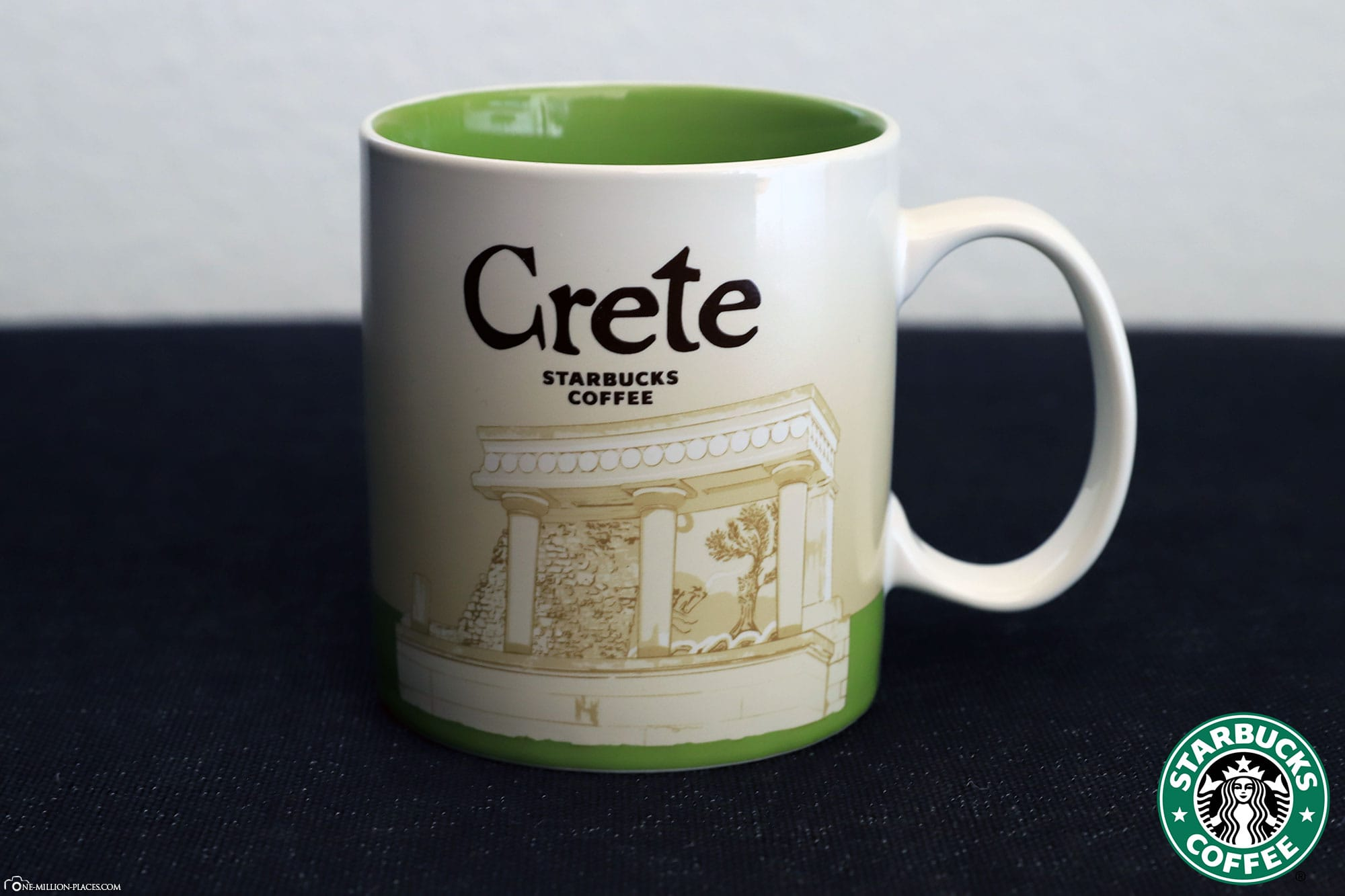 Crete, Starbucks Cup, Global Icon Series, City Mugs, Collection, Greece, Travelreport