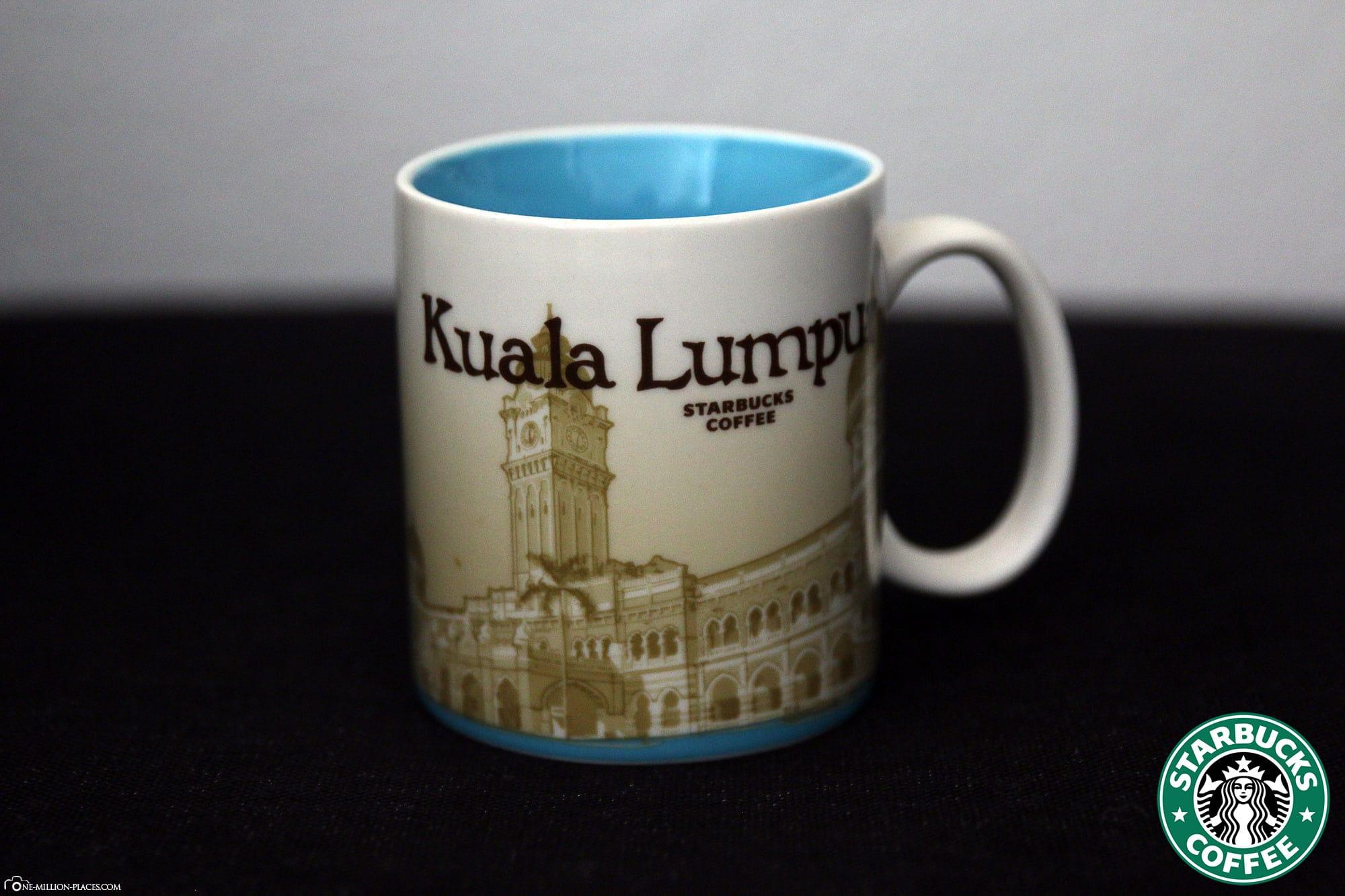 Kuala Lumpur, Starbucks Cup, Global Icon Series, City Mugs, Collection, Malaysia, Travelreport