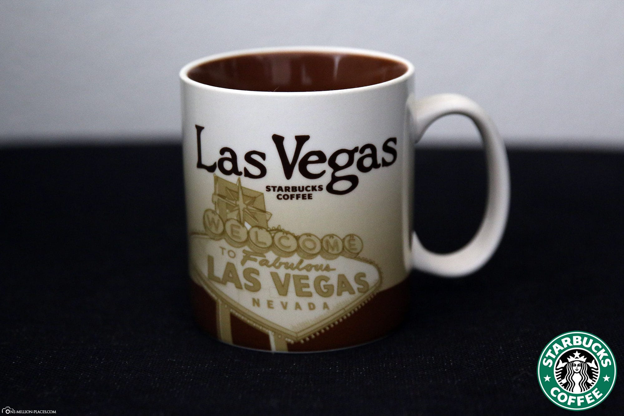 Las Vegas, Starbucks Tasse, Global Icon Serie, City Mugs, Sammlung, USA, Reisebericht